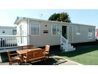 6 Berth prestige caravan, holiday resort unity, Brean, Somerset. Cheap summer holidays
