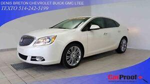 2012 Buick Verano CUIR, TOIT OUVRANT, VOLANT CHAUFFANTS!!