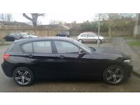 BMW 1 series in excellent condition and low mileage