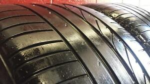 Pair of 2 RUNFLAT ~~~ 315/35R20 Bridgestone Dueler HP Sport ~~~ BMW X5 X6 Original ~~~ SUMMER ~~ 80%tread