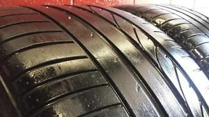 Pair of 2 RUNFLAT ~~~ 315/35R20 Bridgestone Dueler HP Sport ~~~ BMW X5 X6 Original ~~~ SUMMER ~~ 80%+tread
