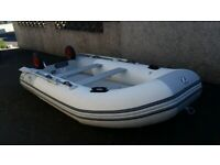 Zodiac Cadet Inflatable Boat with Mercury 9.9HP Outboard Engine