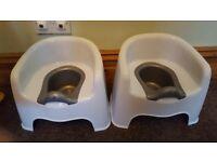 X2 training potties