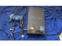Playstation 2 with accessories and USB loader