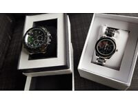 His and hers watches brand new still in the box never worn