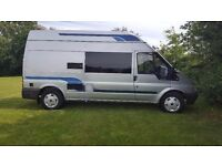 2002 Ford Transit Campervan/Motorhome 2.4 TDI Automatic Ready to Go £6995