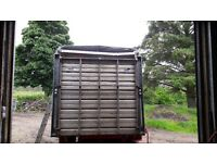 Ifor Williams livestock trailer rear door