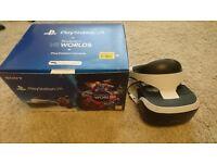 PSVR and camera bundle (PlayStation Virtual Reality)
