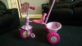 Pink Peppa Pig Toddler Trike