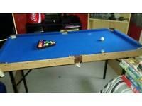 4 foot pool table