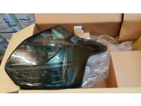 Ford focus rear smoked lights mk3