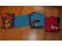 4 sets of boy's pyjamas - age 10/11 years Arsenal Lego Others