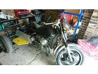 Honda cx trike project