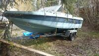 19 foot Reinell Canaventure pleasure craft with 75hp merc