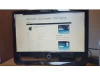 """AOC F22 22"""" Widescreen FULL HD 1080p (1920 x 1080) LCD Monitor for pc or laptop"""