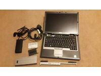D630 laptop & charger (spares only/motherboard dead)
