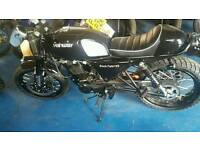 Hanway Black Cafe 125cc