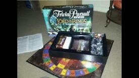 NEW lord of the rings TRIVIAL PURSUIT!