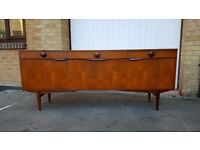 Retro Mid Century Teak Sideboard by Elliotts of Newbury - Delivery