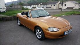 1999 Mazda MX-5 convertible MOT May 2019 no advisories