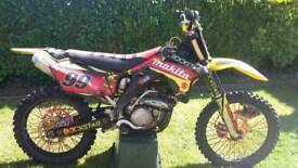 Hi I have my RMZ 450 05 PLATE £1800 ONO call or text me on 07817995720