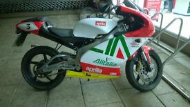Aprilia RS 125 2001 Full Power