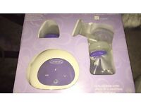 Single electric breast pump used but very good condition bought for £100