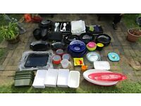 Large selection (roughly 100pc) plastic party plates/dishes - Beighton near Acle