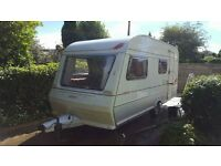ABBY PIPER 4 BERTH WITH FULL AWNING WATER CONTAINERS ELECTRIC HOOKUP GAS BOTTLE SPARE WHELL ECT.