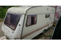 1987 Abbey Executive, vintage 4 berth caravan