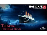 ⚓ Titanic: The Final Hour ⚓ Can you escape Belfast's thrilling new escape room?