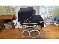 Vintage Style Silver Cross SilverCross Dolls Hard Bodied Pram