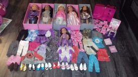 Designafriend dolls and accessories
