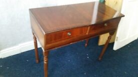 ITALIAN STYLE DRESSING TABLE AND CHAIR