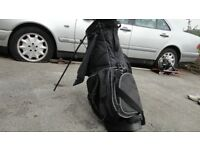 GOLF CLUBS+BAG+TROLLEY