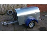 galvanized trailer
