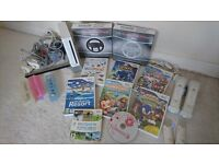 Nintendo Wii, many games and accessories - PRICE NEGOTIABLE
