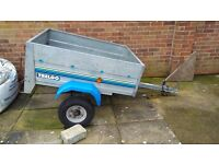 Galvanised trailer by trelgo