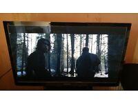 "Panasonic plasma p42gt30b 42"" 3d smart tv with remote"