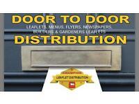 DOOR TO DOOR LEAFLET DISTRIBUTION SERVICE