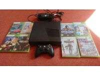 Xbox 360 with games an controller