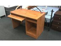 Computer desk in beech - British Heart Foundation