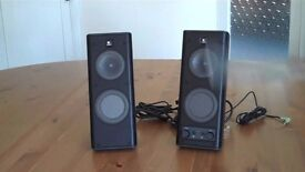 Logitech Speakers for PC or Ipod - great stereo sound quality
