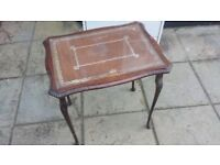 Vintage drinks table - small - can deliver locally