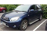 2008 Toyota Rav 4. Dark blue. 6 months MOT. Cosmetic damage to rear door. £4000