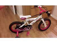 Avigo dream kids pink bike