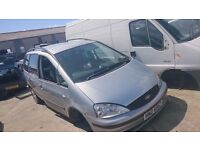 2003 FORD GALAXY ZETEC, 1.9 TDI, BREAKING FOR PARTS ONLY, POSTAGE AVAILABLE NATIONWIDE