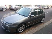 MG ZR 115 Trophy SE TD hatchback, 2L Turbo. Metallic grey. 5 doors.