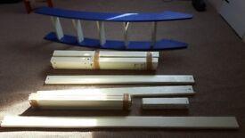 cresta scallywag high sleeper legs ladder and safety rail
