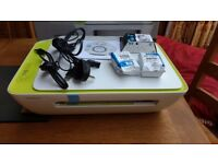 HP Wireless Printer- never used with ink cartridges and box it came in